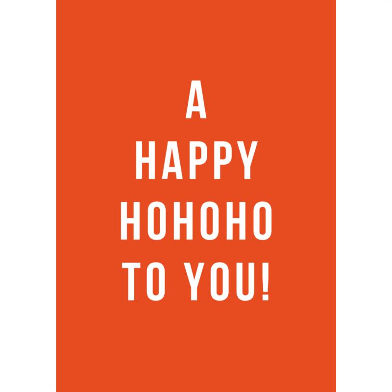 kerstkaart-van-gekkiggeit-met-de-tekst-a-happy-hohoho-to-you