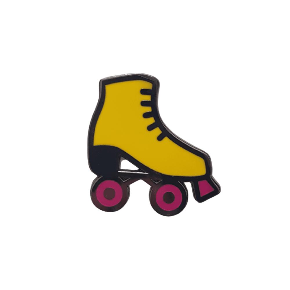 pin-van-gekkiggeit-in-de-vorm-van-een-rolschaats