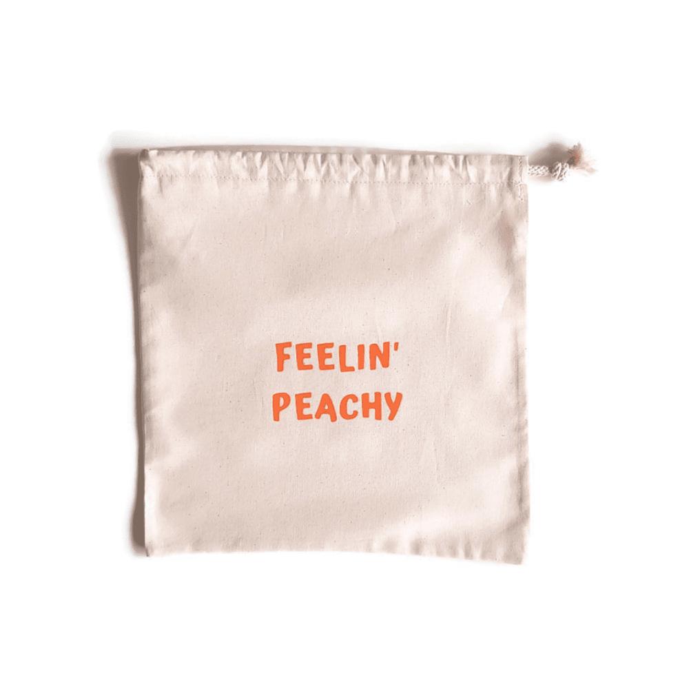 groente-en-fruitzakje-van-gekkiggeit-met-leuke-tekst-feelin-peachy