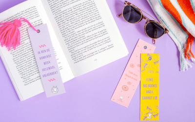 DIY: Kwastje voor aan je boekenlegger
