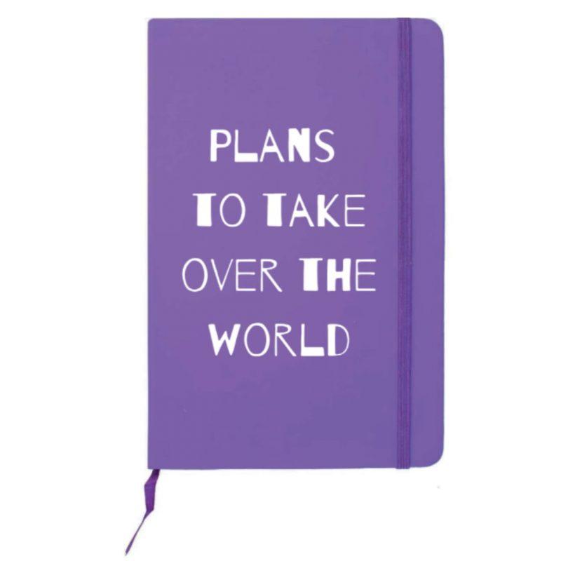 notitieboek-van-gekkiggeit-met-de-tekst-plans-to-take-over-the-world